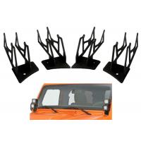 Quality Jeep LED Cube Pods Installation LED Lights Brackets Anti - Rust Pods Bracket for sale