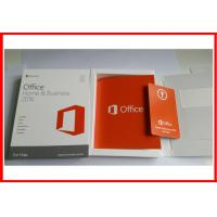 Buy cheap Microsoft Office 2016 Home and business  Retail Box Office 2016 HB for MAC activated online product