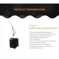 Buy cheap 240v Pico Second Q Switched Nd Yag Laser Portable Laser Tattoo Removal Machine 755nm product