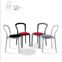 stackable Lady P Chair/stackable cafe cushion chair/stackable restaurant chair/hotel chair