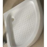 Buy cheap Bathroom Simple Shower Tray Bases Sector Shape for Shower Cabin Room product