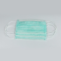 Buy cheap Disposable Earloop 3 Ply Face Mask For Personal Heath Care product