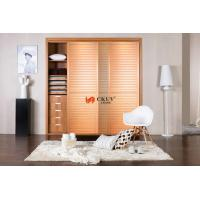 Contemporary Kitchen / Wardrobe Sliding Louvered Closet Doors Opening Smoothly