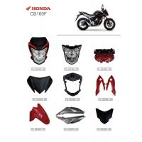 Buy cheap Motorcycle Series Accessories Headlamp Assembly Protective Cover Parts Honda CB160F product