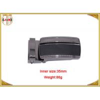 Buy cheap Reversible Zinc Alloy Metal Belt Buckle For Men With Clips 35mm product