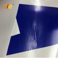 China 500gsm 100% Pvc Flex Plastic Tarpaulin With Glass Fiber For Truck / Tent on sale