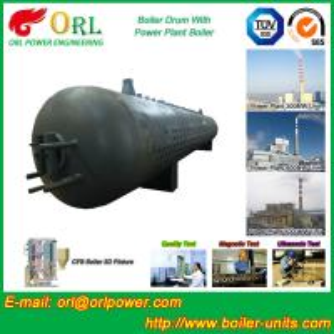 Buy cheap 80 Ton Fire Tube Boiler Mud Drum Longitudinal Environment Friendly from wholesalers