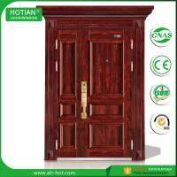 Buy cheap Made In China CE High Quality Swing Security Steel Door Popular for Hotel, Apartment, Villa Entrance Doors product