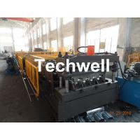Buy cheap Welding Wall Plate Machine Frame Structural Metal Deck Forming Machine With Chain Transmission product