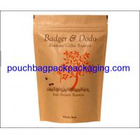 Buy cheap Stand up pouch, Aluminium pack bag, zipper doypack for coffee packaging product