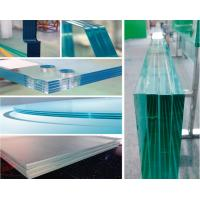 Buy cheap 12mm Toughened Laminated Glass Sheets With Ultra Clear Glass Material product