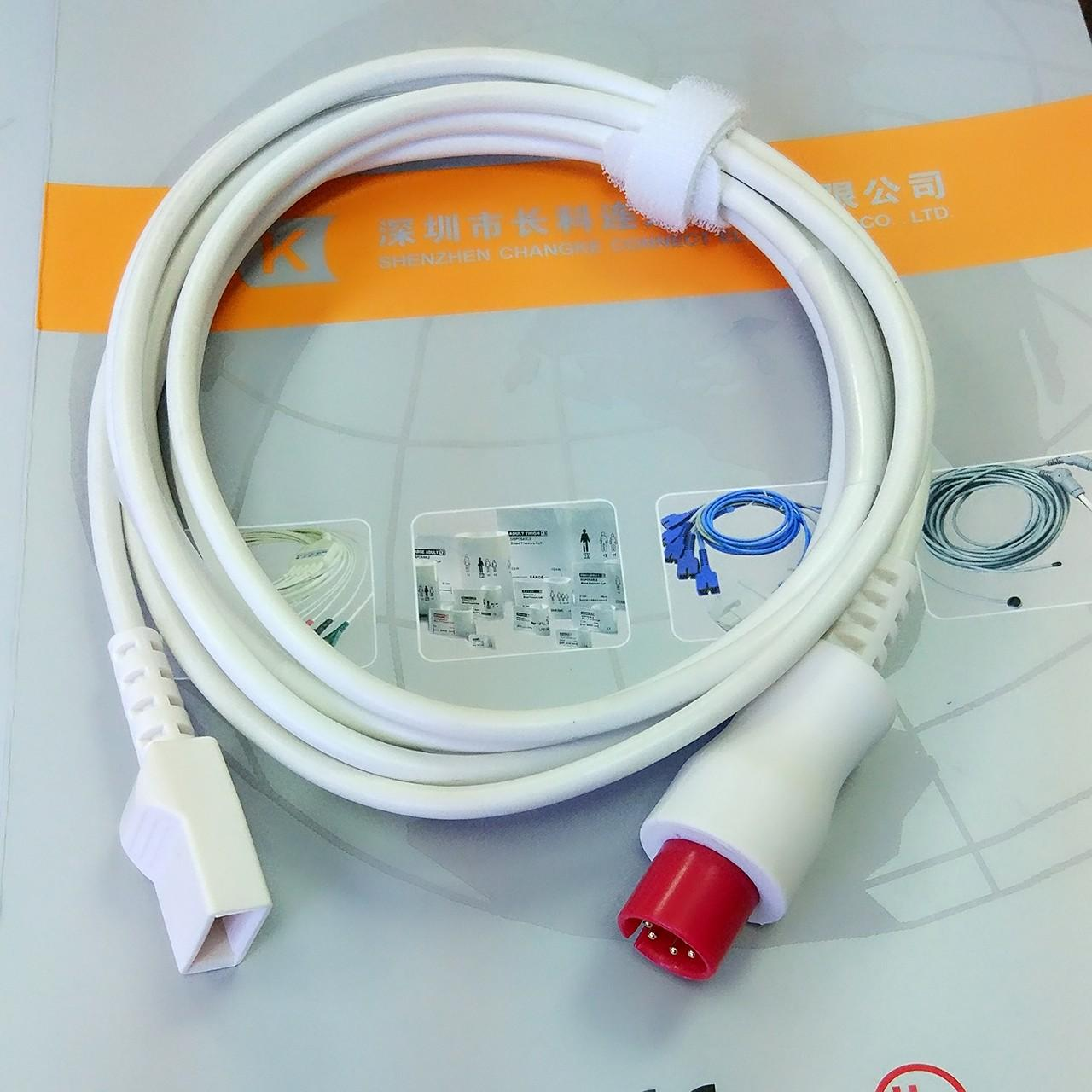 Buy cheap Generic AAMI Utah IBP cable to transducer IBP adapter cable from wholesalers