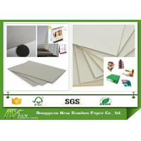 Buy cheap Eco - Friendly Grade B Thick Strawboard Paper Two Sided Grey Uncoated For Printing product