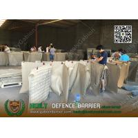 China 1x1x1m Recoverable Military Defence Barrier Plust Wall | China Defensive Gabion Barrier Factory on sale