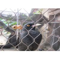 Buy cheap Hand Woven Stainless Steel Bird Mesh Corrosion Resistant Aviary Wire Mesh product