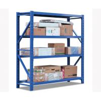 Buy cheap 4 Layer Strong Warehouse Storage Shelves Waterproof OEM / ODM Acceptable product