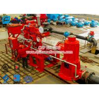 Buy cheap 2 stage Multistage Vertical Turbine Fire Pump Sets With Firefighting Diesel Engine Driven With 500 Usgpm product