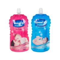 Buy cheap custom design shaped liquid pouches doypack spout bag packaging for body lotion product