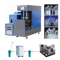 Buy cheap Full Automatic 4000BPH Bottle Blowing Machine , PET Bottle Injection Moulding Machine product