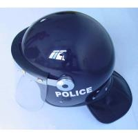 Buy cheap Average size Balck Dupont Kevlar Bulletproof police riot helmet for PASGT product