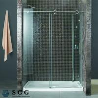 China Glass Partitions For Showers(5mm,6mm,8mm,10mm,12mm,15mm,19mm) on sale