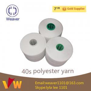 Quality Покрашенный поток 40 100% полиэстер низкой цены шить/2 для выстегивать for sale