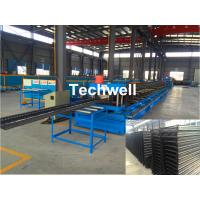 Buy cheap CT100-600 Electric Cable Ladder Roll Forming Machine for Making Steel Cable Tray Ladder Profile Sheets product