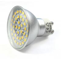 Buy cheap sliver aluminum housing led spot down lights GU10 MR16 bulb led lamps 12V outdoor lighting product