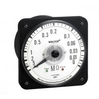 China 80 * 80mm Round Type AC Insulation Resistance Meter With Relay Alarm on sale