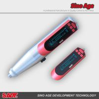 Buy cheap Automatic Calculating Concrete Test Hammer Digital Rebound Hammer 0.225kgm Impact Energy product