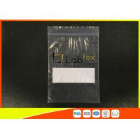 Buy cheap Damp - Proof Clear Plastic Poly Industrial Ziplock Bags For Electronic Products product