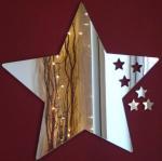 Buy cheap feuilles acryliques de miroir de forme Cinq-aiguë d'étoile avec l'excellent service product
