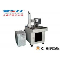 Buy cheap Small Industrial Laser Marking Systems , Transparent Glass Carving Machine product