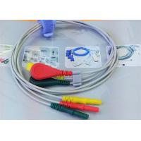 Buy cheap Patient ECG Monitor Cable 3 Color Alligator clip electrodes Needle Electrode product