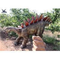 Buy cheap Large Outdoor Animal Statues , Realistic Life Size Dinosaur Lawn Decorations  from wholesalers