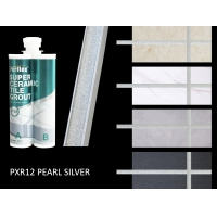 Buy cheap Glitter Bright White Polyaspartic Tile Grout 12 Months Shelf Life product