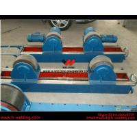 Buy cheap Conventional 10 Ton Tank Welding Rotators for Boiler Industry , PU Roller Turning Rolls product