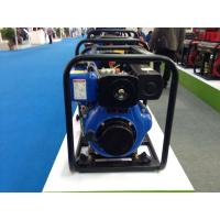 Buy cheap Recoil  / Manual Start 3 inch Diesel Water Pump 288g / kw . h Fuel Consumption product