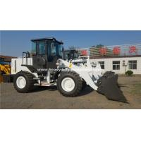 Buy cheap Yellow Or White Color SINOMTP LG938 Wheel Loader With 1.8m³ Bucket For Construction Using from wholesalers