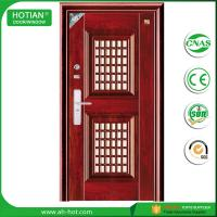 Buy cheap Latest design main gate steel security door iron gate designs with CE product