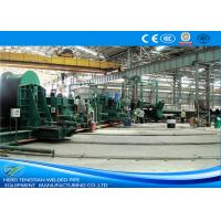 Buy cheap Blue Colour Spiral Welding Machine , Pipe Welding Machine 800mm Coil Width product