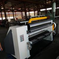 Buy cheap Automatic Single Facer Corrugated Machine Customized Flute Wind Control product