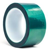 3M 8992 Green Polyester High Temperature Tape with Silicone Adhesive , Masking Tape , Dark Green Color for sale