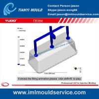 Buy cheap thin wall plastic rectangular containers mould flow analysis product