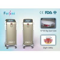 Buy cheap Vertical champagne ipl/shr fda approved laser hair removal machine pain free product