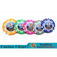 High Precision Casino Poker Chip Set / Poker Table Set For Gambling Games