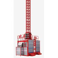 Buy cheap 2 × 2000kg Construction Hoist Elevator for industrial with Lifting Height 200m product