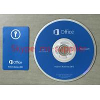 China Home And Business Microsoft Office 2013 Software License Key With CD And Box on sale