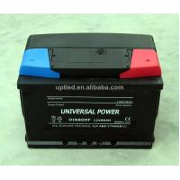 Buy cheap Rechargeable 12 volt Lead Acid DIN 80 battery for Automotive , truck , Alarm system product
