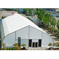 Buy cheap 40 x 90 M With Fire Retardant White PVC Fabric TFS Tents For Events Heat Resistant product